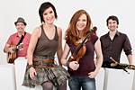 CARA - a new breeze in Irish music - Quartett-Besetzung