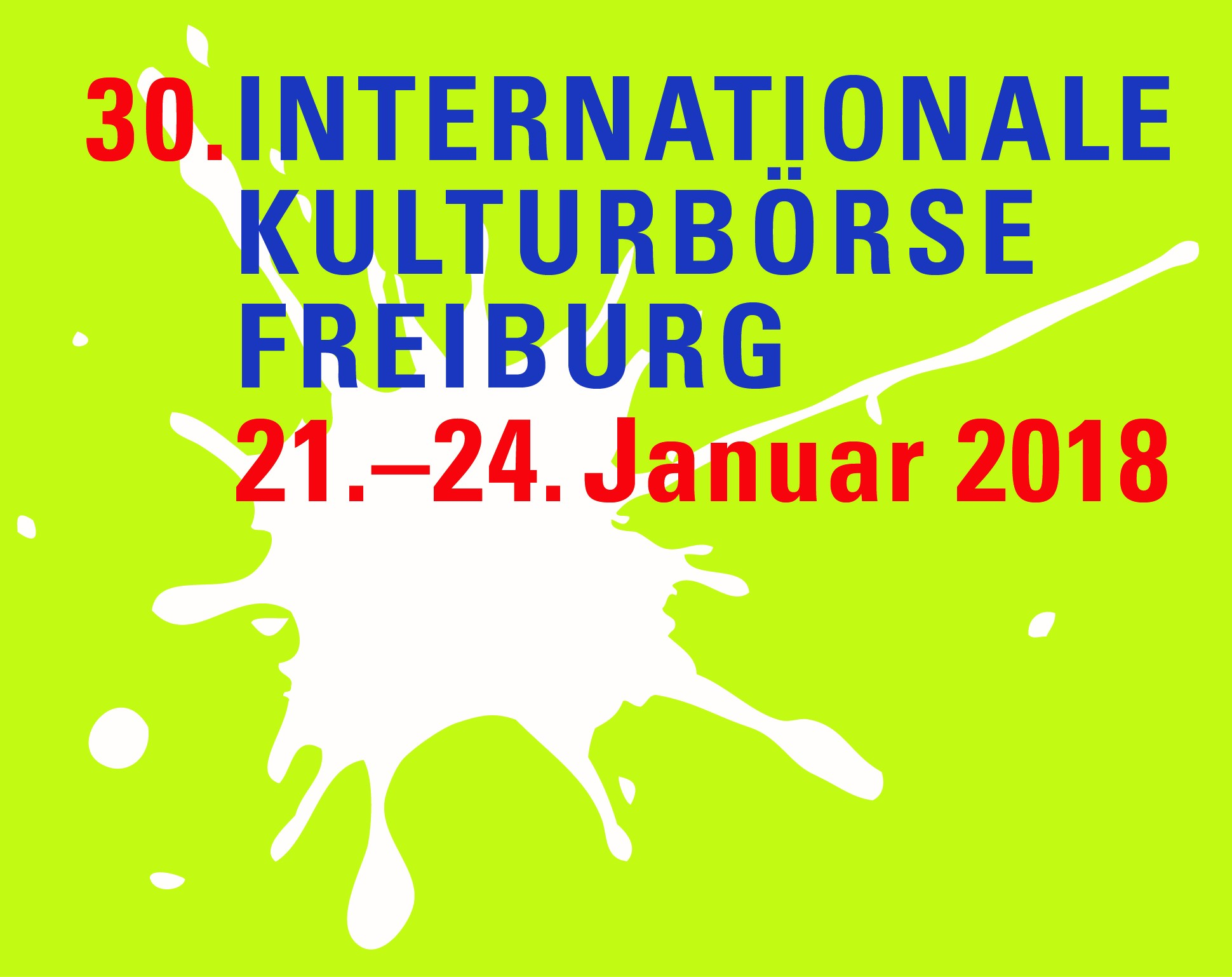 30. Internationale Kulturbörse - 21. bis 24. Januar 2018